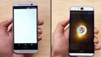 HTC Desire EYE vs HTC One M۸ Speed Test
