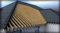 Modeling Roof Formations Structures and Materials in Revit