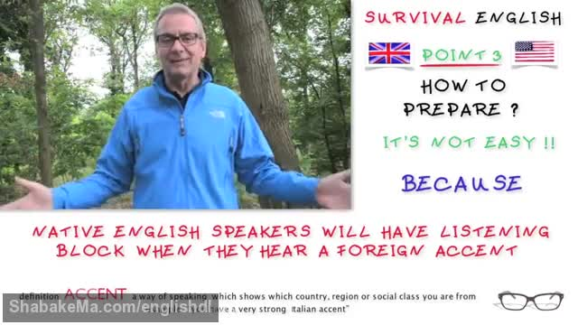 Listening - problems with English native speakers