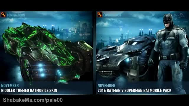 تریلر بازیBatman: Arkham Knight