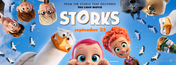 (Storks Official Trailer  (2016