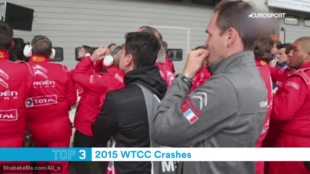 Top 5: WTCC crashes