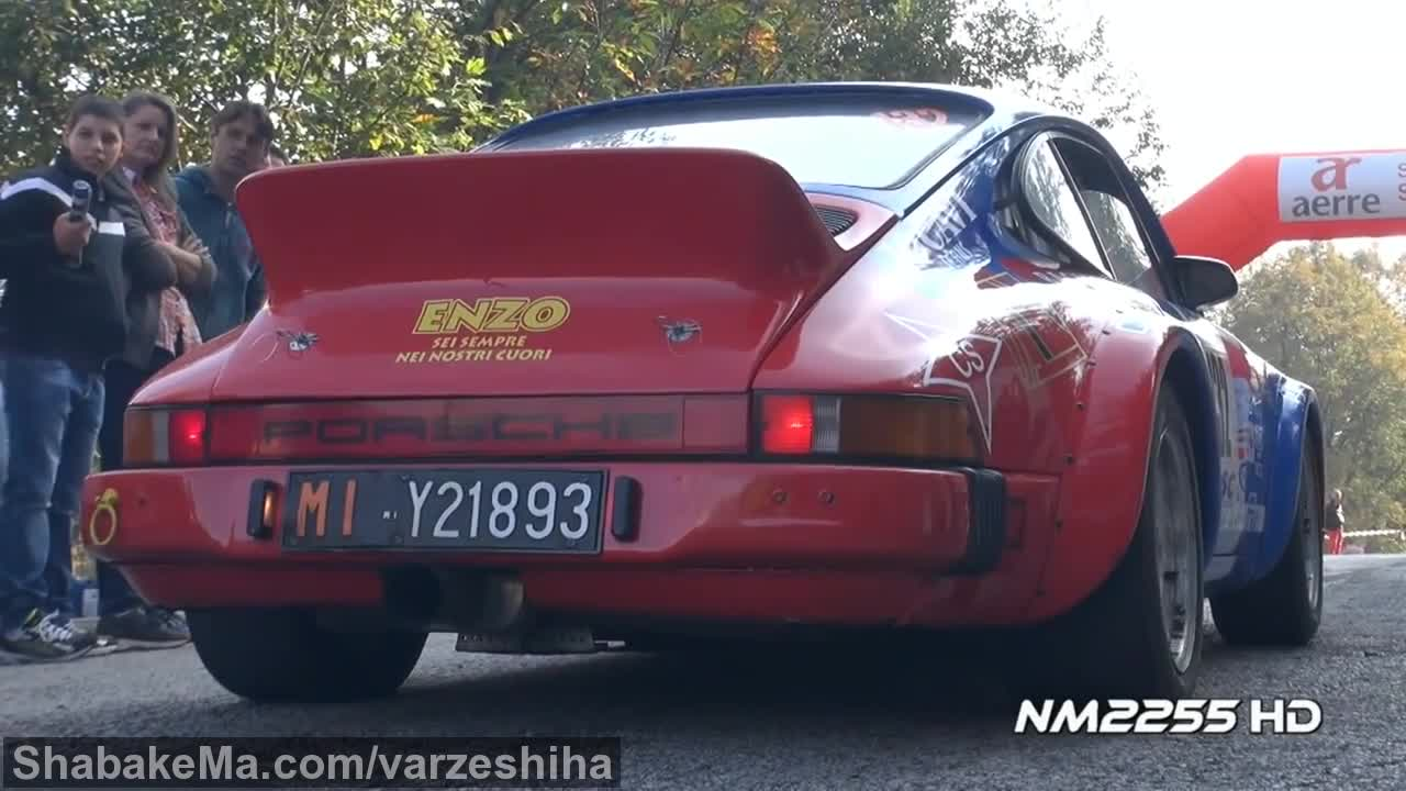 مسابقات رالی : Porsche 911 Rally Special Launches and Fly Bys!
