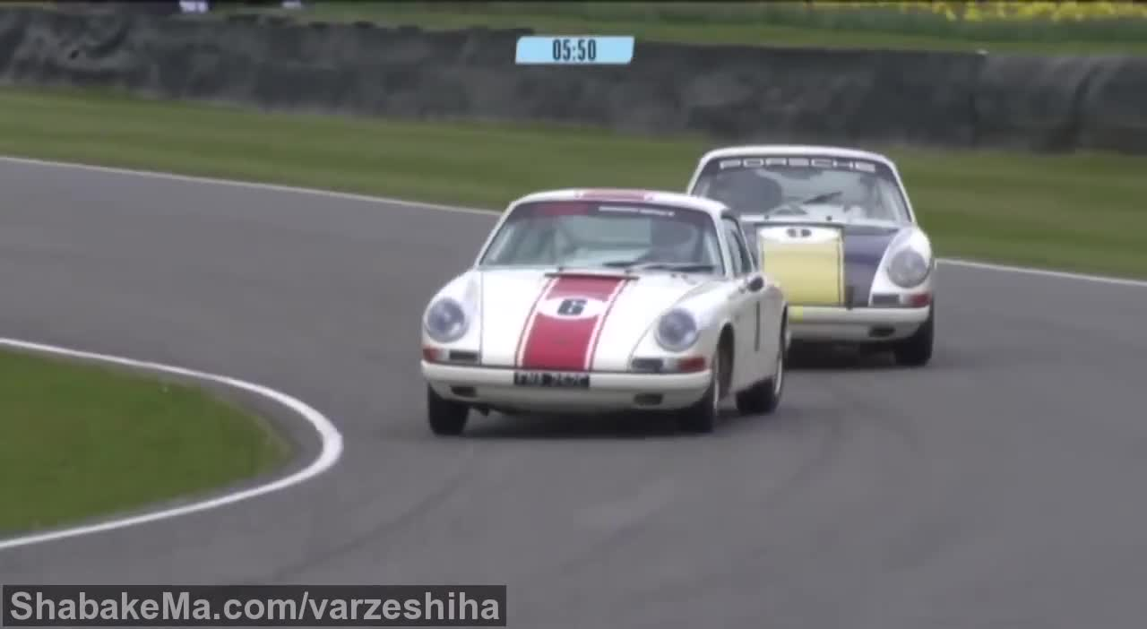 مسابقه دریفت : Drifting like a pro in a 1965 Porsche 911