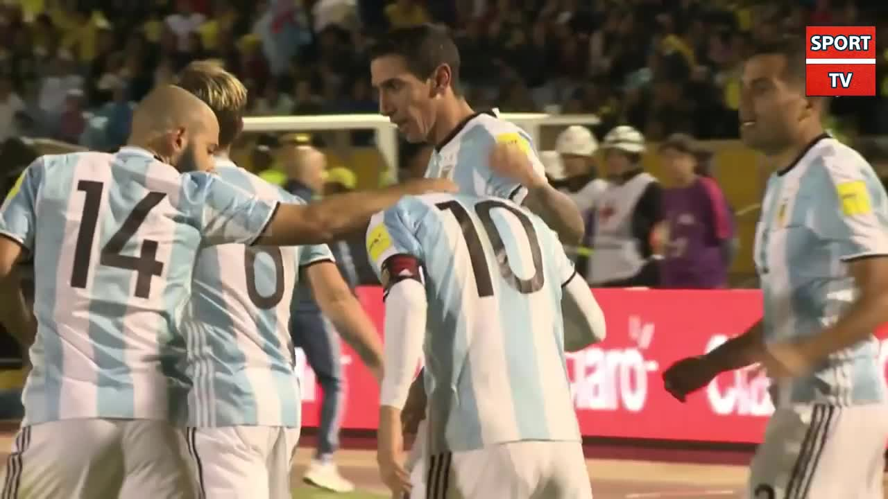 فوتبال جام جهانی 2018 :Watch Lionel Messi Celebration after Qualifies Argentina T