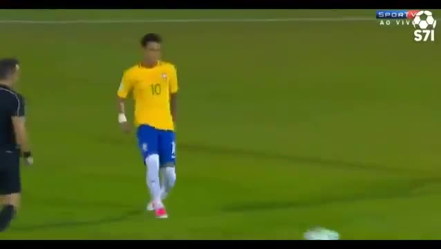 فوتبال جام جهانی 2018 :URUGUAY 1-4 BRAZIL [2018 FIFA World Cup qualification]
