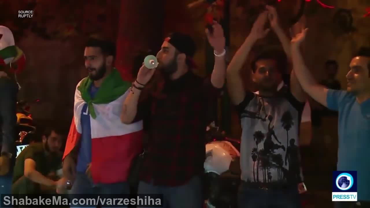 فوتبال جام جهانی 2018 :Joy on the streets as Iran qualify for World Cup 2018