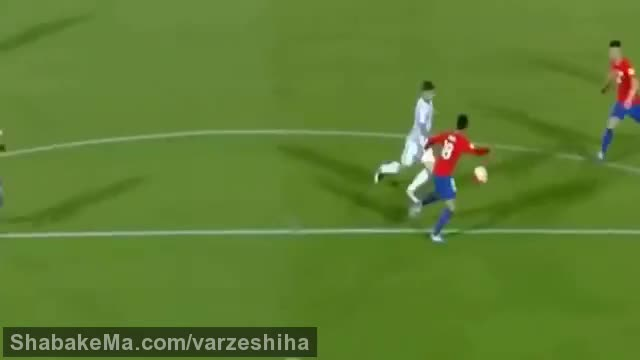 فوتبال جام جهانی 2018 :Chile vs Argentina 1-2 ( all goals ) ( World Cup 2018 Qualifyin