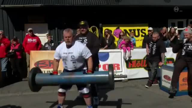 قوی ترین مردان جهان : World's Strongest Disabled Man 2015 in Iceland