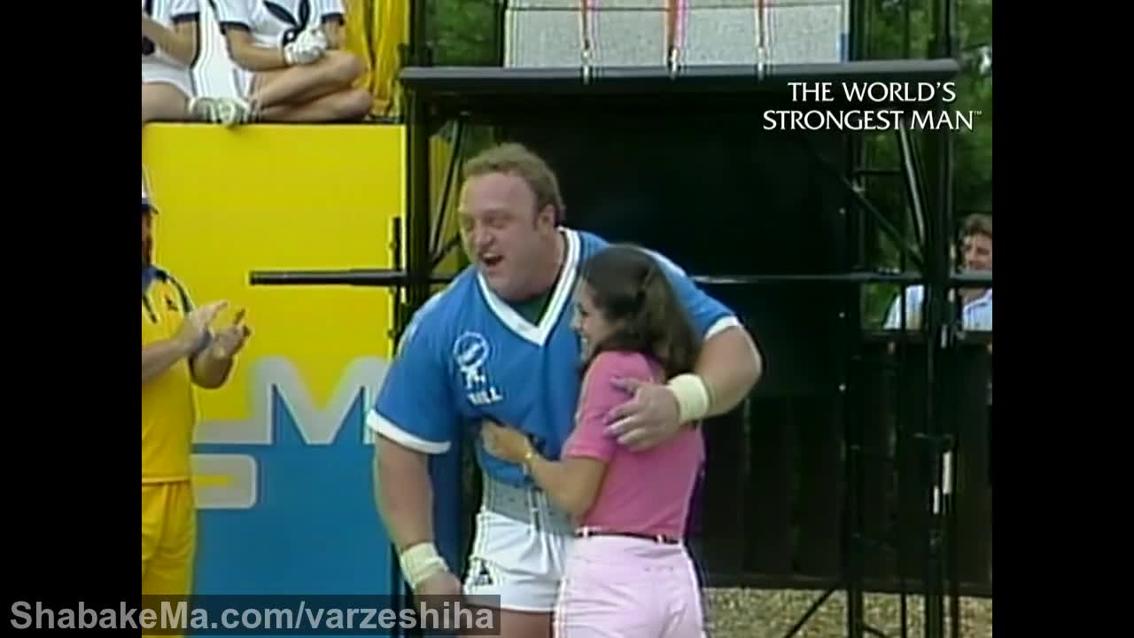 قوی ترین مردان جهان : The World's Strongest Man Classics 1981: Kazmaier has the stro