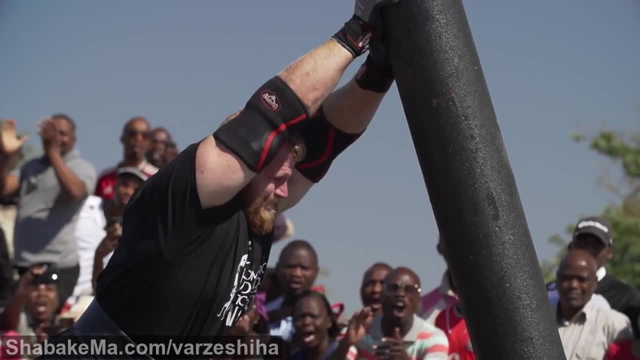 قوی ترین مردان جهان : World's Strongest Man 2016 Super Slow Motion Series