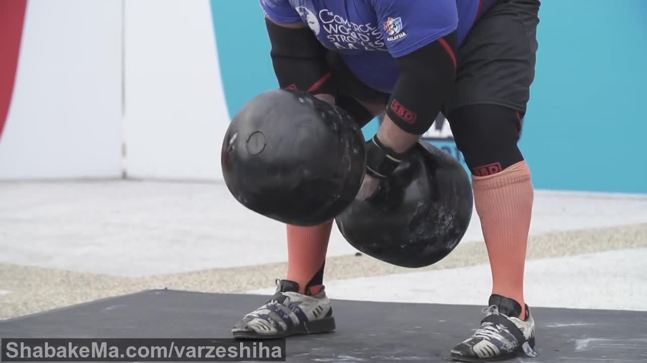 قوی ترین مردان جهان : World's Strongest Man - Super Slow Motion Series