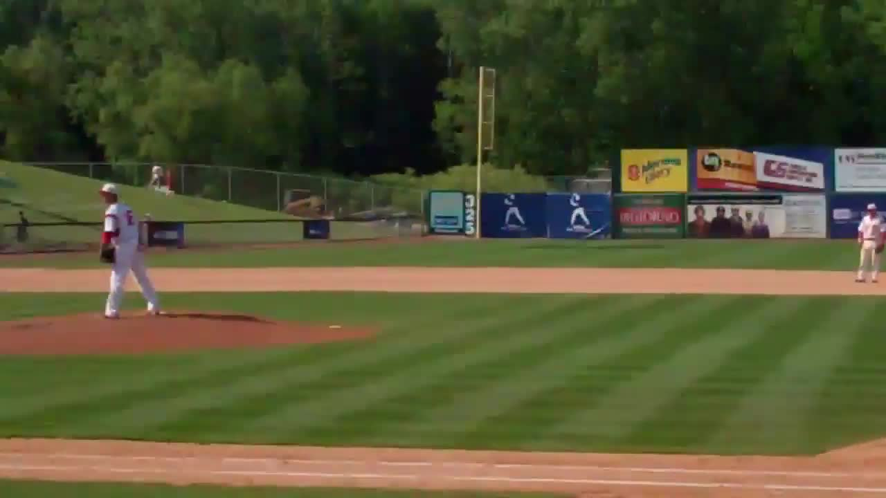 مسابقه بیسبال : Wheaton College baseball - College World Series vs Cortland St. 5-27 ...
