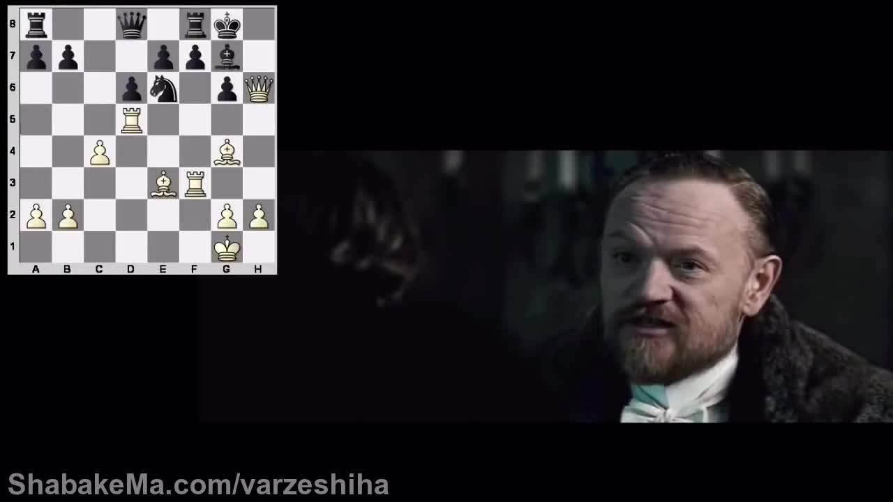 مسابقات شطرنج : Sherlock Holmes: A Game Of Shadows (Chess Scene Analysis ...