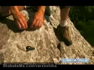 ورزش صخره نوردی - کوهنوردی  : Rock Climbing Tips for Anchors & Knots : How to Use Existing Bolts ...
