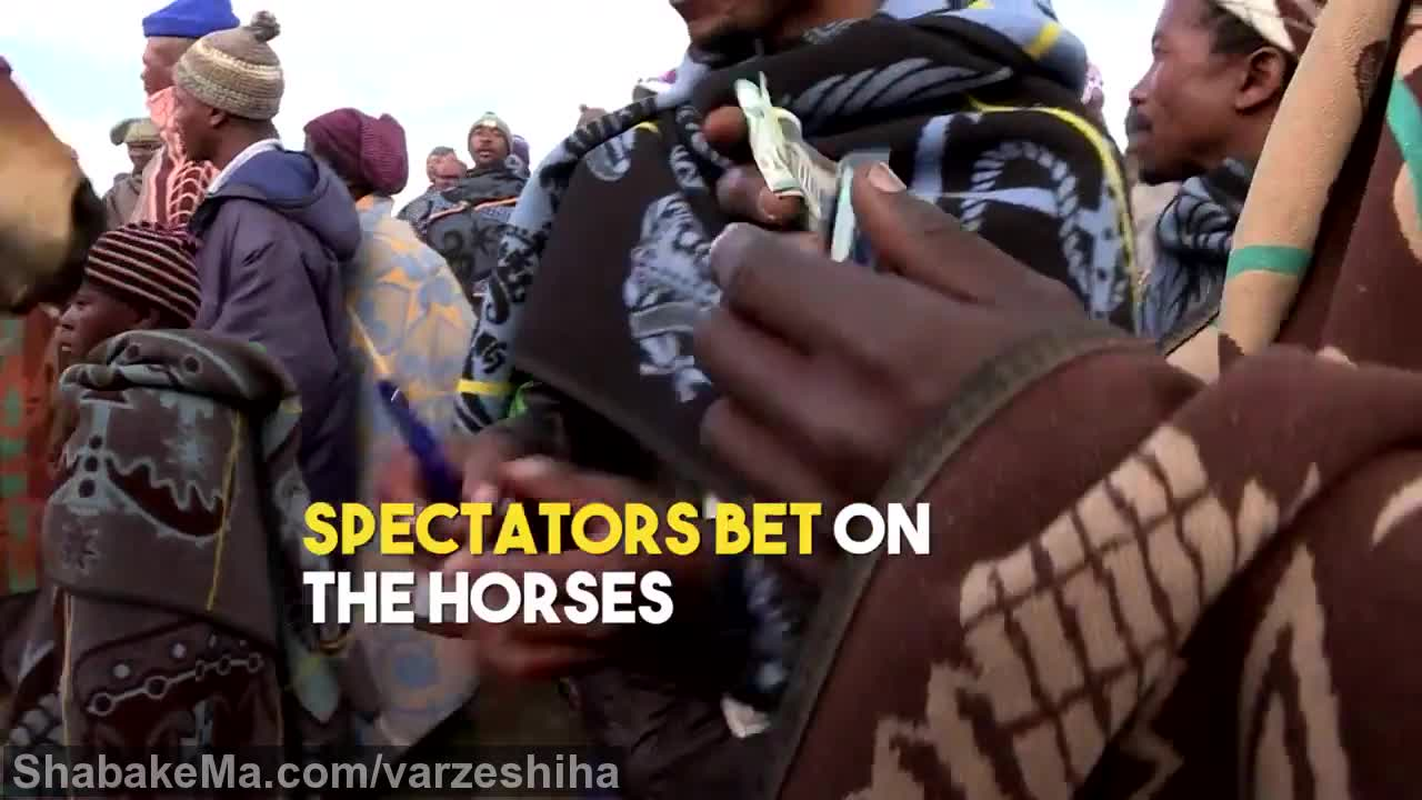 ورزش سوارکاری اسب  : Lesotho's horse racing culture (WION Edge)