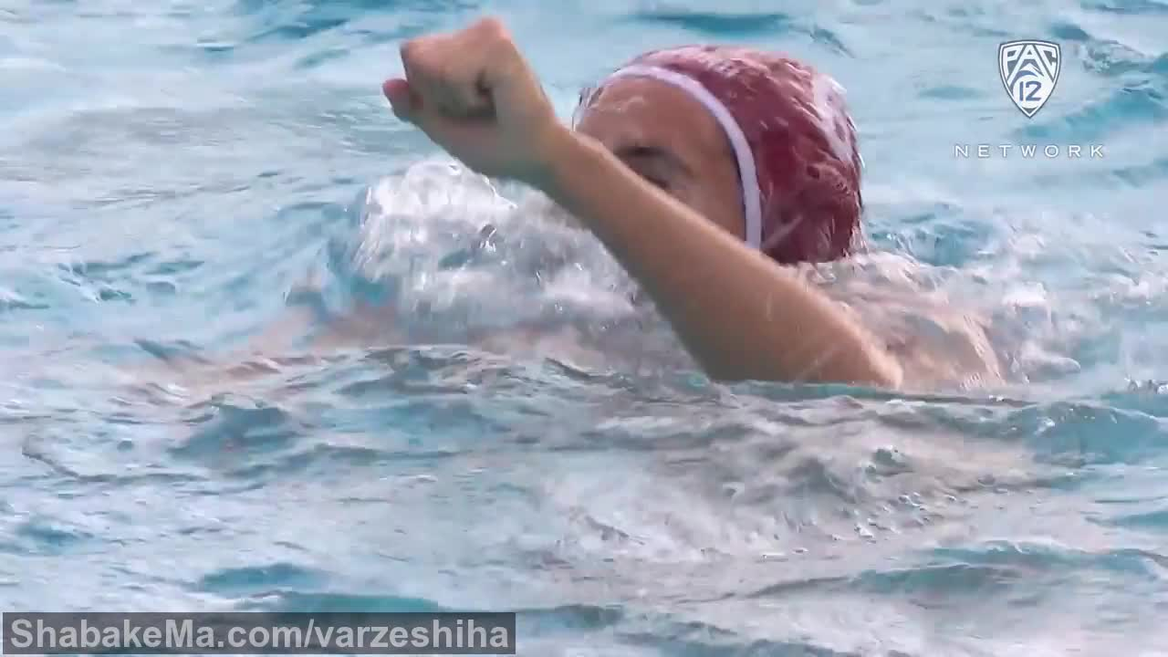 ورزش واترپلو : Recap: Ben Hallock's hat trick powers Stanford men's water polo past ...