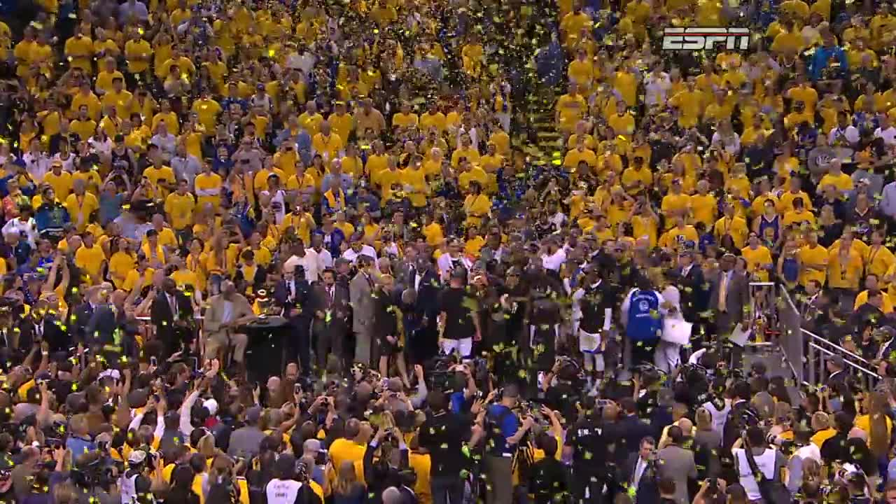 ورزش بسکتبال : FULL 2017 NBA Championship Celebration From Golden State ...