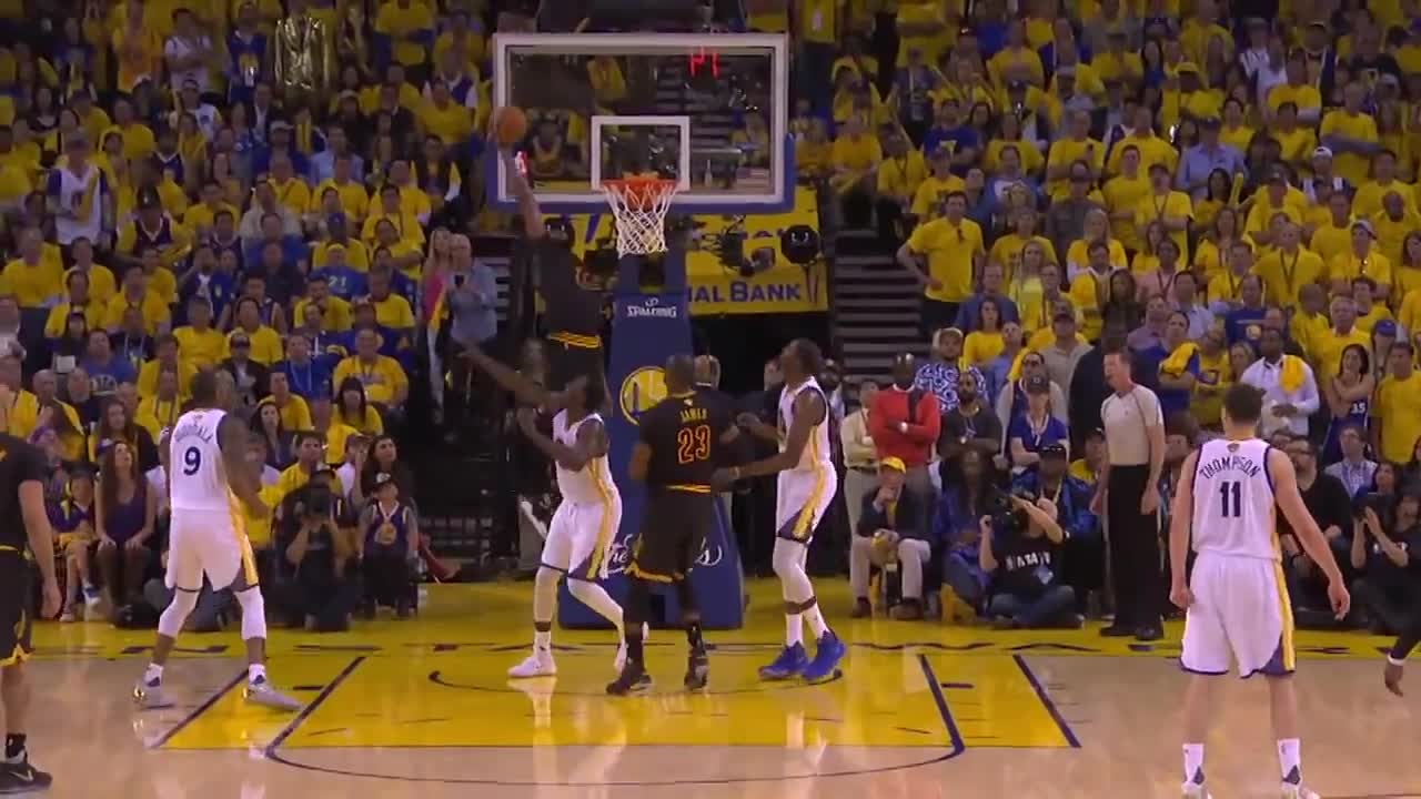 ورزش بسکتبال : 2017 NBA Finals Game 5 EPIC Highlights: Warriors Win The Title ...