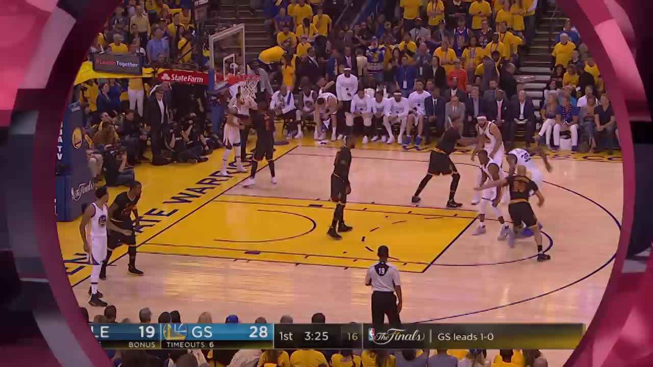 ورزش بسکتبال : Top 10 Dunks of The 2017 NBA Finals!