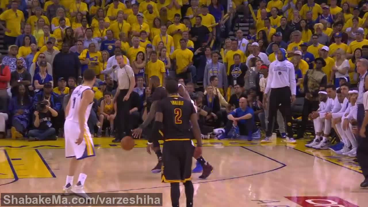 ورزش بسکتبال : Top 5 Plays from Game 5 of the 2017 NBA Finals