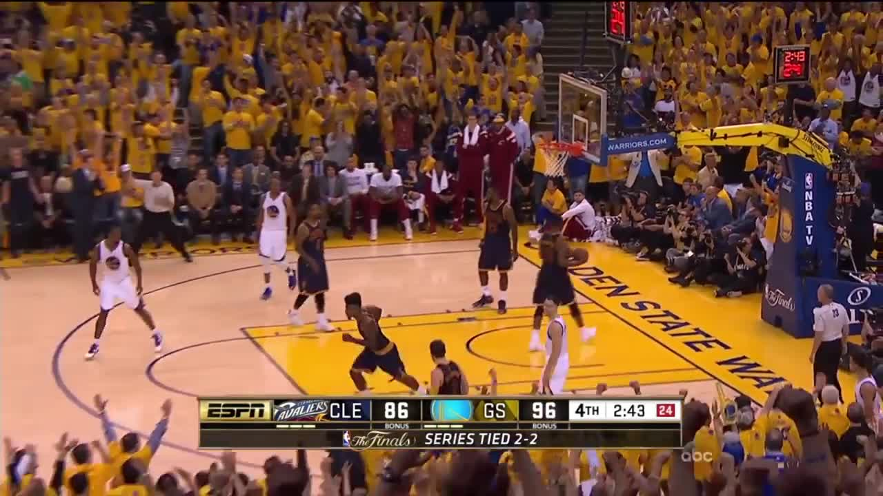 ورزش بسکتبال : Clutch Moments From The 2015 and 2016 NBA Finals