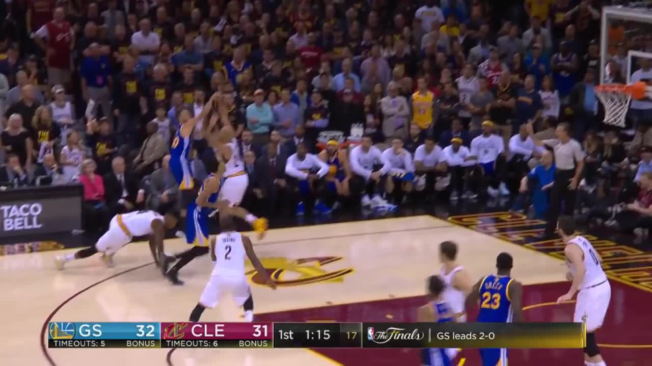 ورزش بسکتبال : Steph Curry's Full Highlights From 2017 NBA Finals