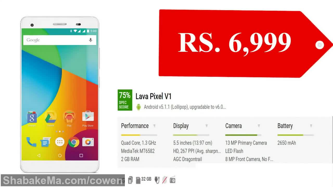 دنیای موبایل : Latest 10 Lava Mobile Price in India (2017)