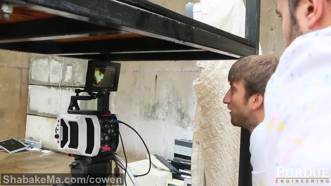 اسلوموشن دیدنی : Behind the Scenes: The Slow Mo Guys and Zucrow Labs's ...