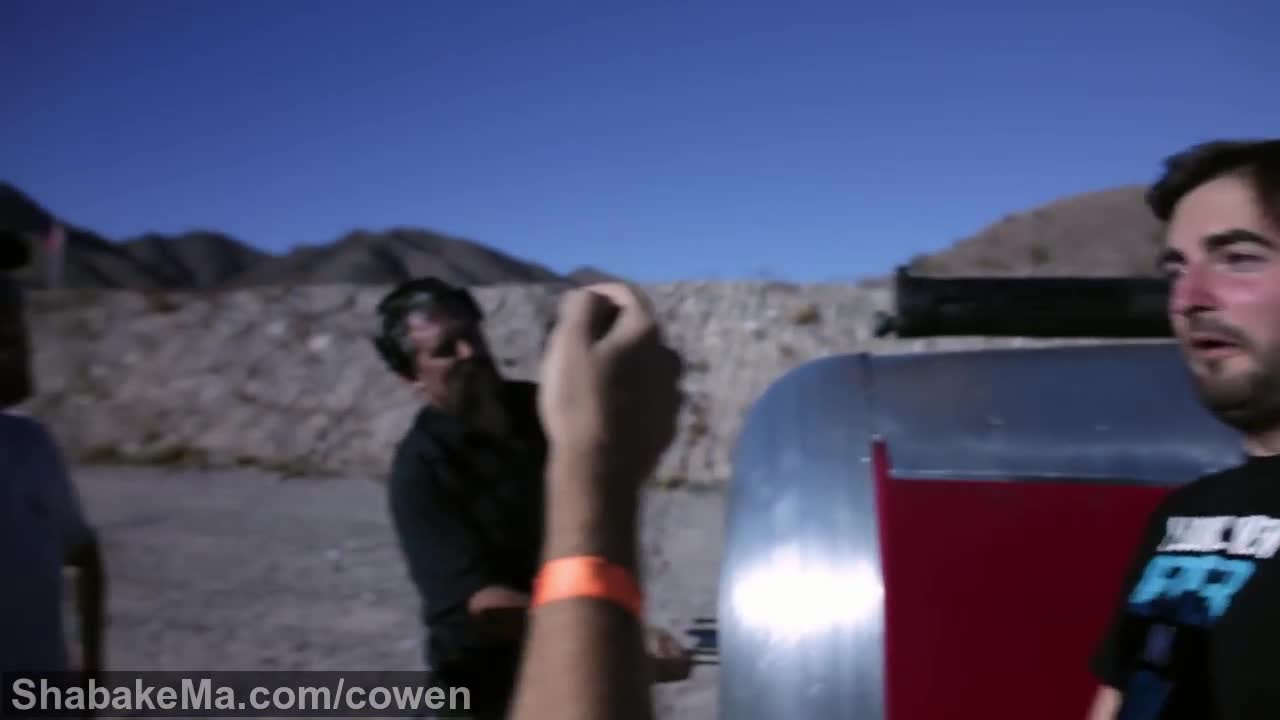 اسلوموشن دیدنی : Slow Mo Guys Behind The Scenes: Bullets vs Propellers | Rooster ...