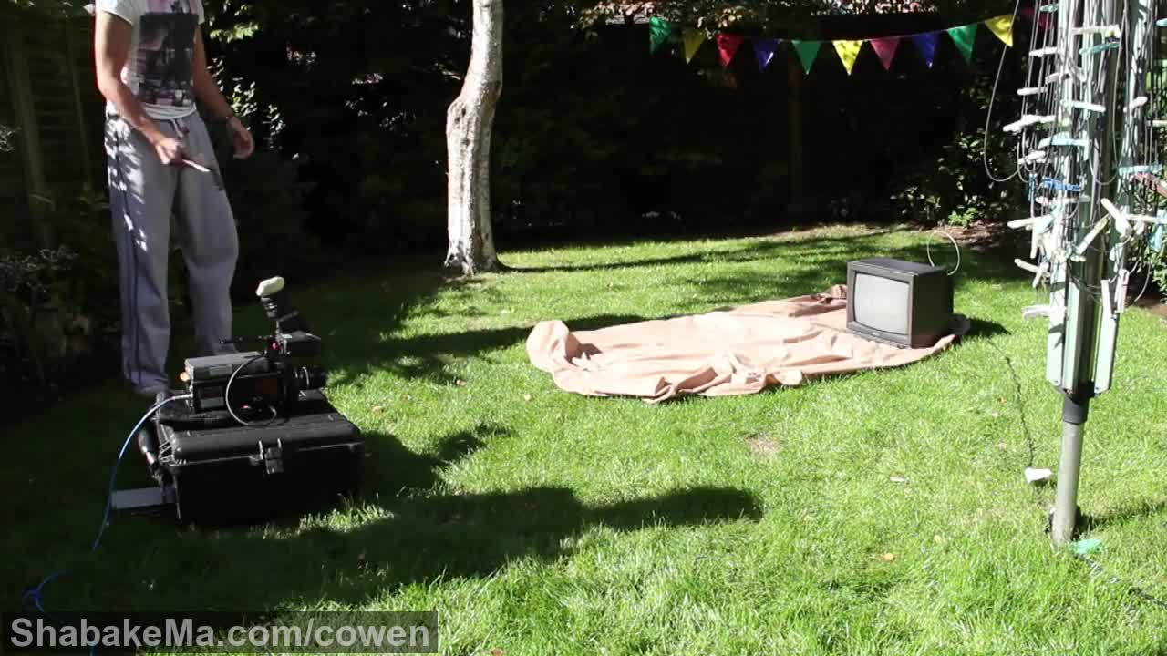 اسلوموشن دیدنی : Smashing a TV in Slow Motion - The Slow Mo Guys
