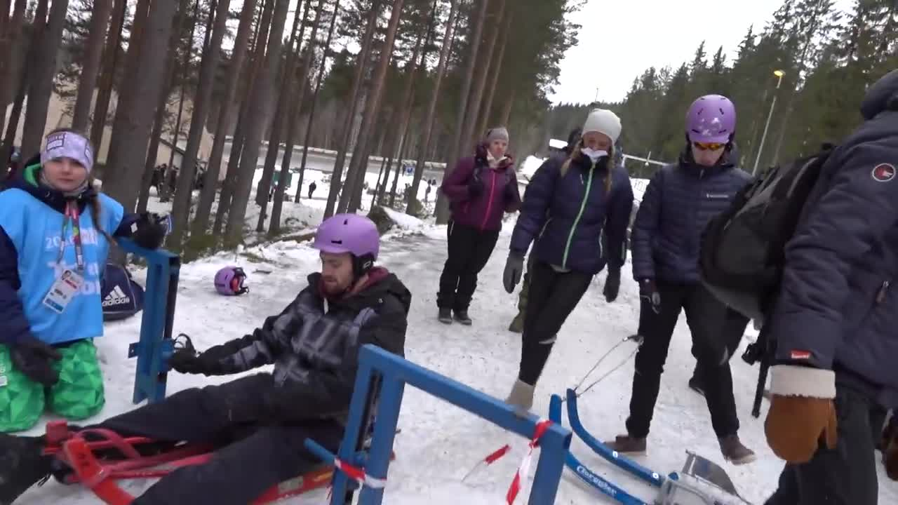 ورزش اسکلتون : Skeleton Racing in Norway