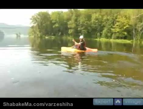 قایق سواری کایاک : How to Kayak : How to Edge while Kayaking