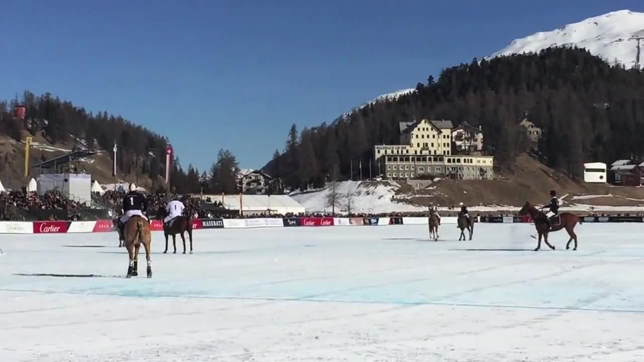 ورزش چوگان : Anzeige: Galia Brener - Behind the Scenes @ Snow Polo St. Moritz ...