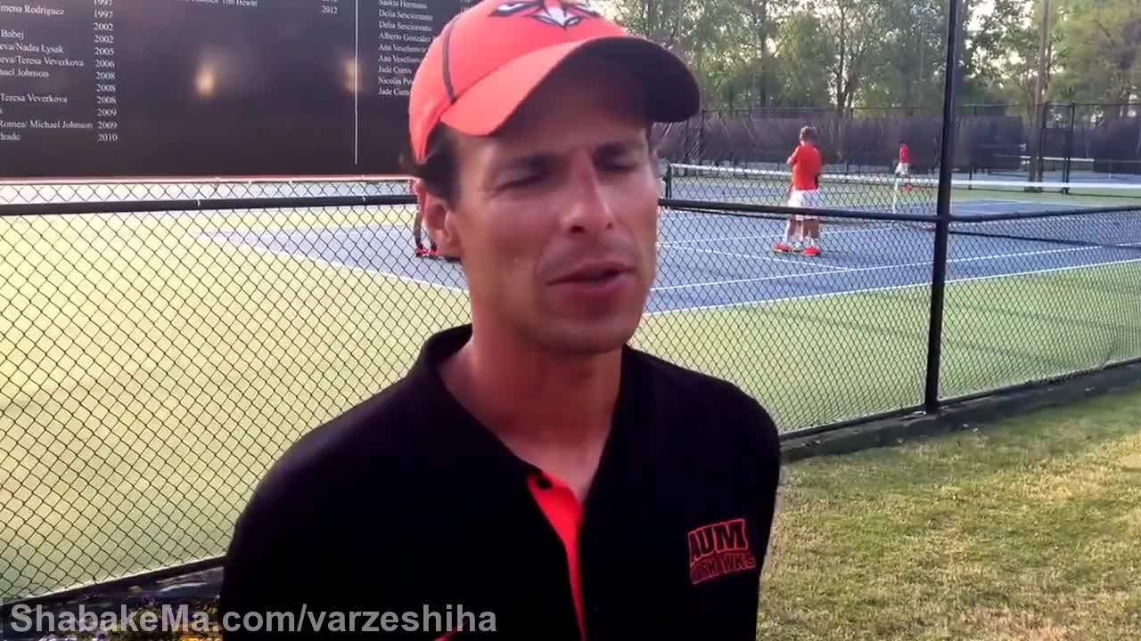 تنیس جایزه بزرگ : Post-match Interview: Men's tennis head coach Rolando Vargas ...