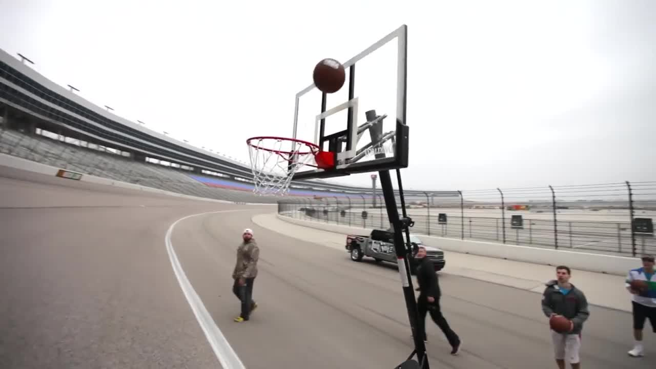 تریک شات : Behind The Scenes - Insane Trick Shots with Dude Perfect