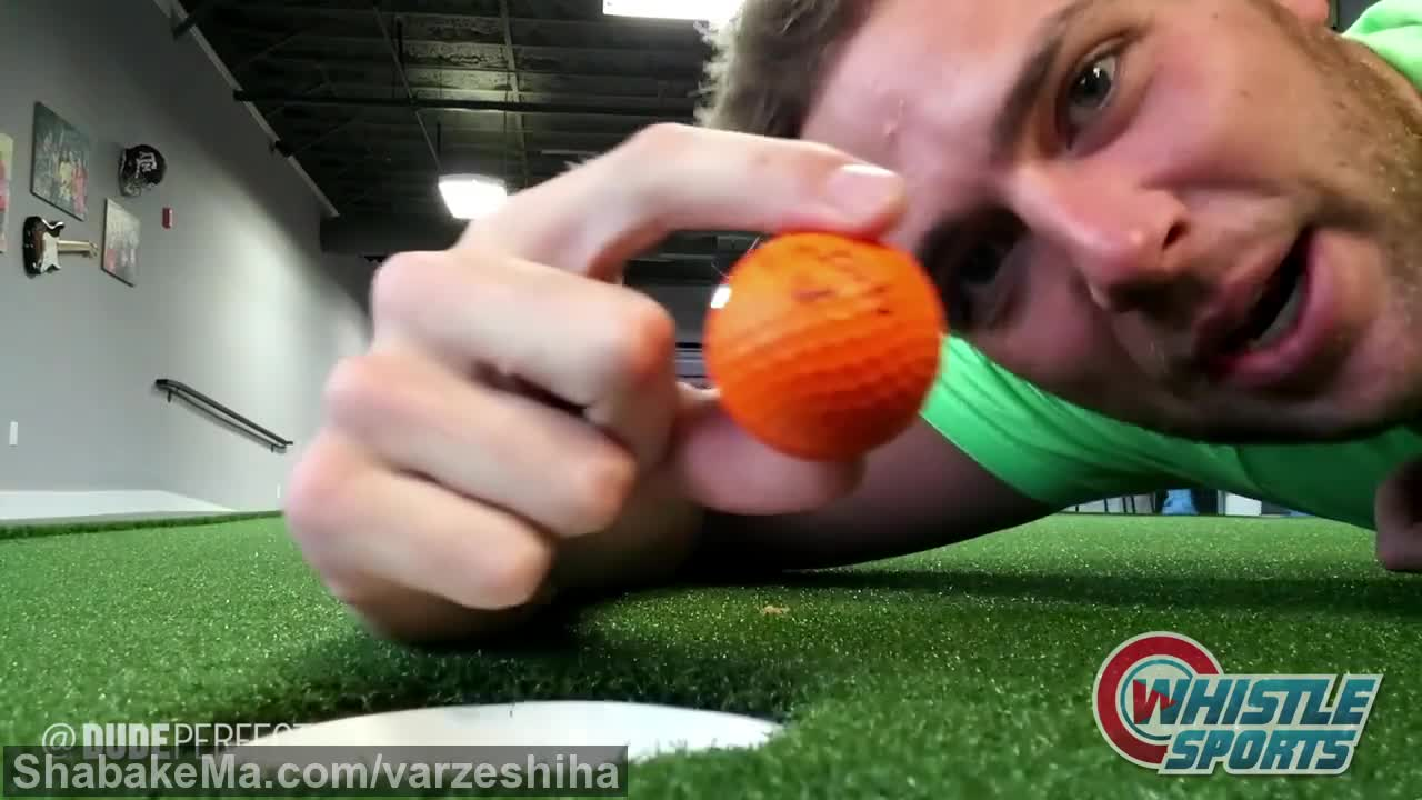 تریک شات : Dude Perfect Office Trick Shots | Behind The Scenes