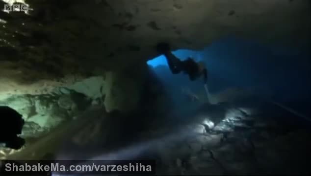 ورزش غارنوردی : Cave diving reveals secret world - Earth - The Power of the Planet ...