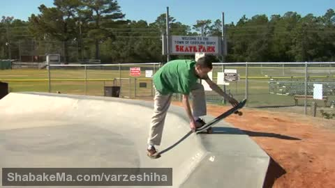 ورزش اسکیت برد : Skateboarding on Ramps : How to Roll up a Skateboarding Ramp ...
