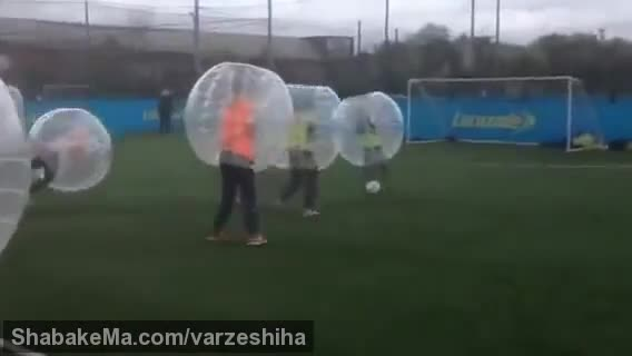 ورزش زوربینگ : Kids Zorb Football Parties at Powerleague!
