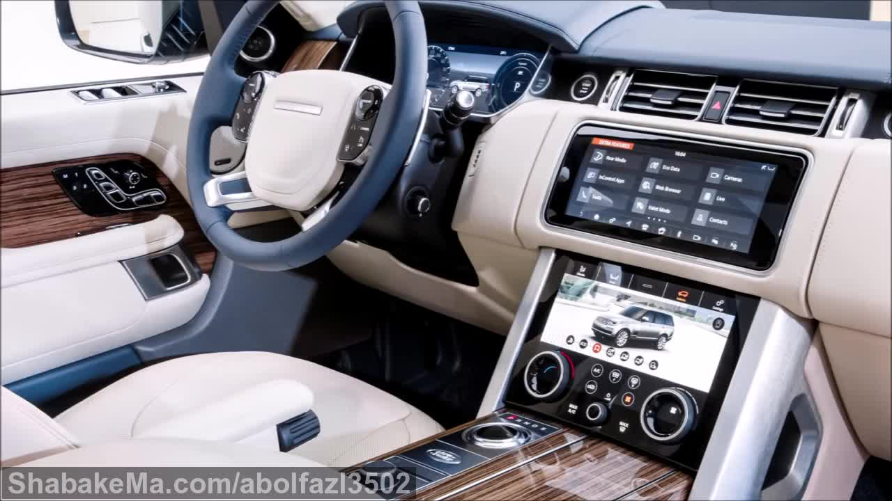 2019 Land Rover Range Rover - INTERIOR.mp4