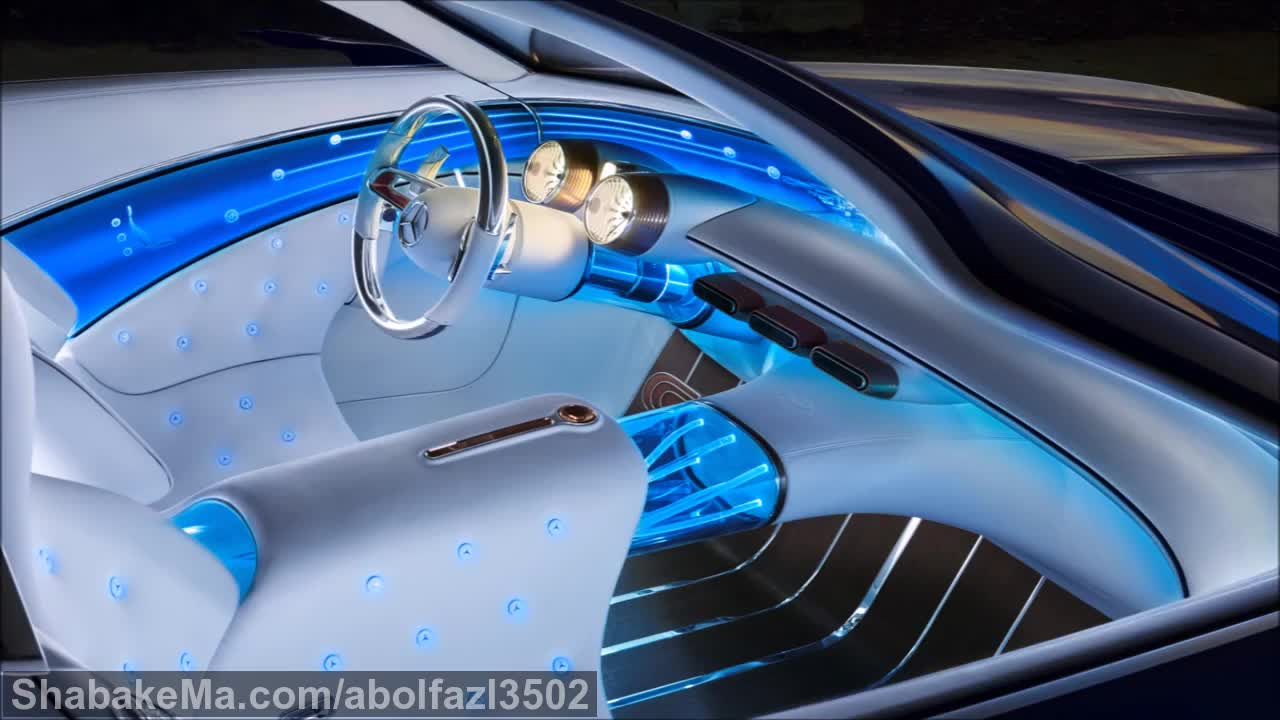 2018 Vision Mercedes-Maybach 6 Cabriolet - interior Exterior and Drive.mp4