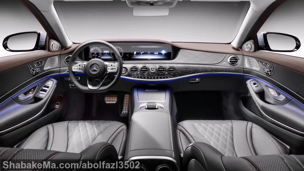 2018 Mercedes S63 (S-Class) - INTERIOR.mp4
