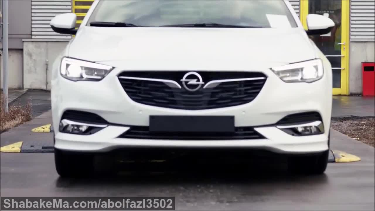 2017 Opel insignia - PRODUCTION.mp4