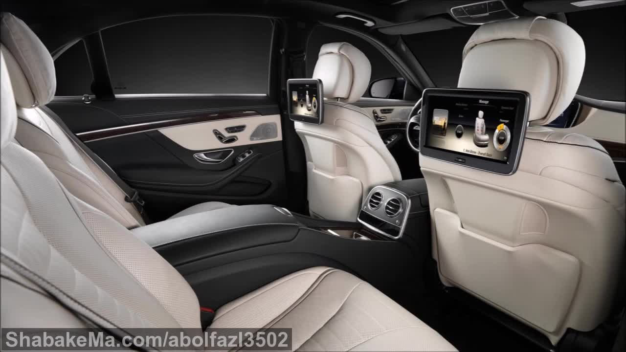 2017 Mercedes S-Class - INTERIOR.mp4